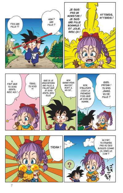 Page 8 Dragon ball SD tome 1