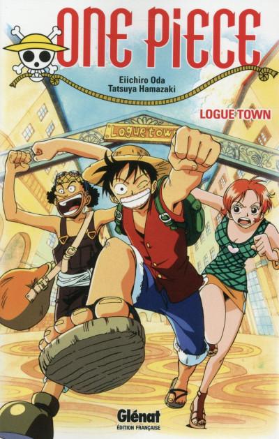 image de One Piece roman tome 2 - Logue town