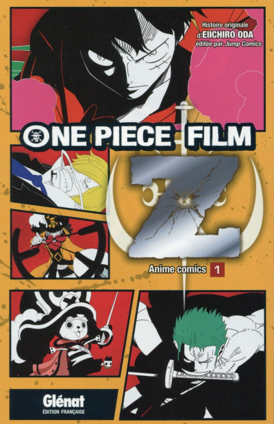 Couverture One piece Z tome 1