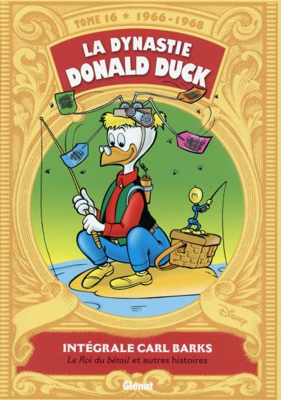 Couverture La dynastie Donald Duck tome 16 - Picsou roi du Far West et autres histoires