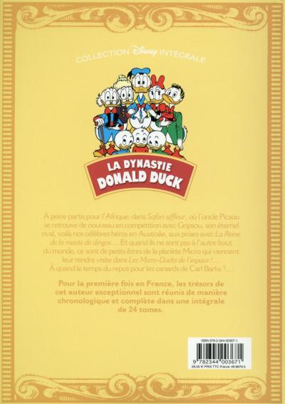 Dos La dynastie Donald Duck tome 16 - Picsou roi du Far West et autres histoires
