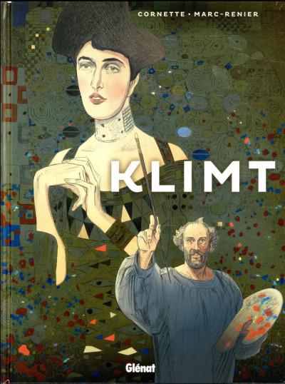 Couverture Les grands peintres - Gustav Klimt