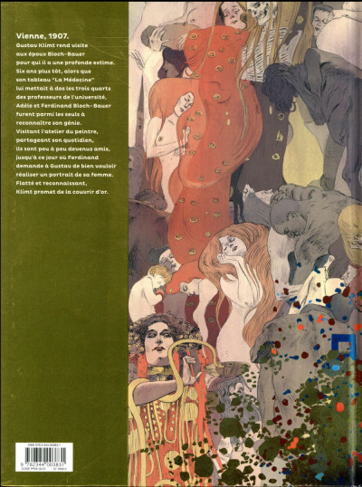 Dos Les grands peintres - Gustav Klimt
