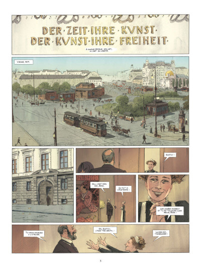 Page 1 Les grands peintres - Gustav Klimt