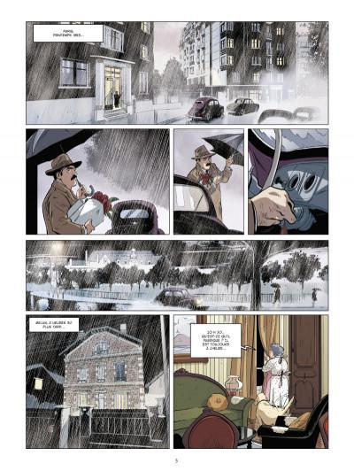 Page 1 Les mystères de la quatrième République tome 3 - Le Bel automne des collabos