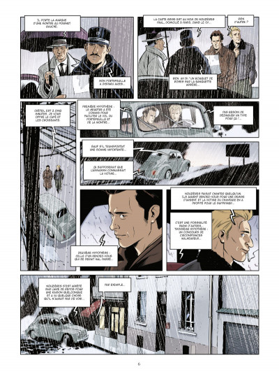 Page 4 Les mystères de la quatrième République tome 3 - Le Bel automne des collabos