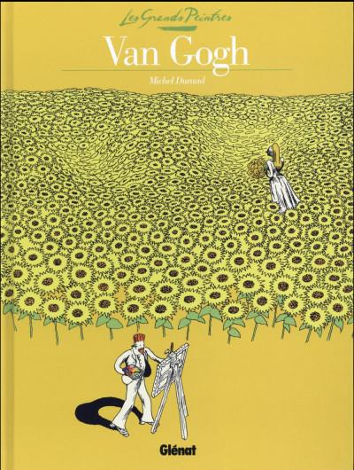 Couverture Les grands peintres - Van Gogh