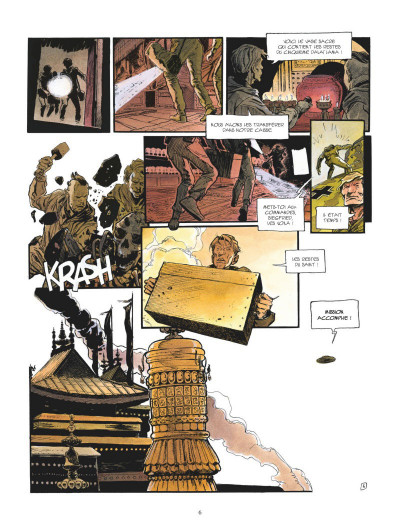 Page 4 La légende du lama blanc tome 3