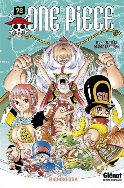 Couverture One piece tome 72