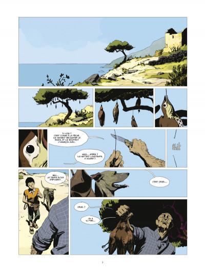 Page 1 l'or et le sang tome 1 - L'appel du large (édition 2014)