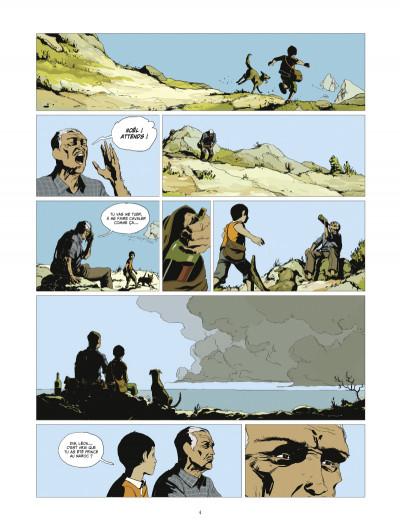 Page 2 l'or et le sang tome 1 - L'appel du large (édition 2014)