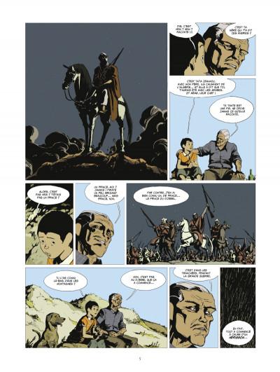 Page 3 l'or et le sang tome 1 - L'appel du large (édition 2014)