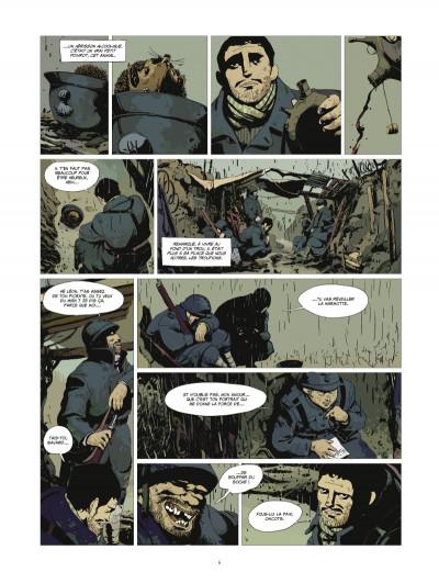 Page 4 l'or et le sang tome 1 - L'appel du large (édition 2014)