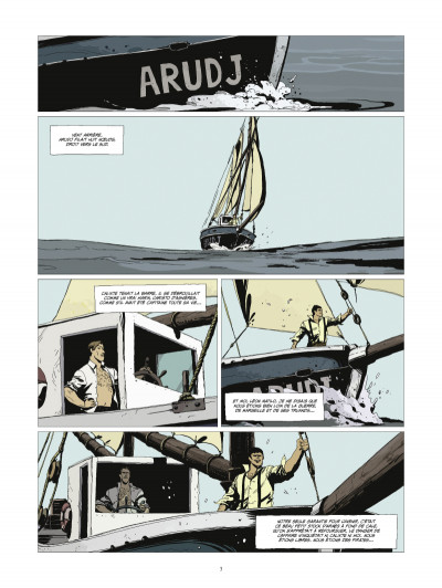 Page 1 l'or et le sang tome 2 - Inch'Allah (édition 2014)