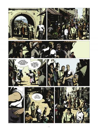 Page 3 l'or et le sang tome 2 - Inch'Allah (édition 2014)