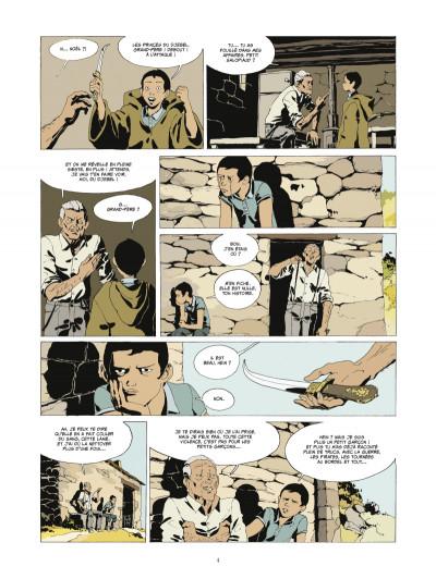 Page 2 l'or et le sang tome 3 - Les princes du Djebel (édition 2014)