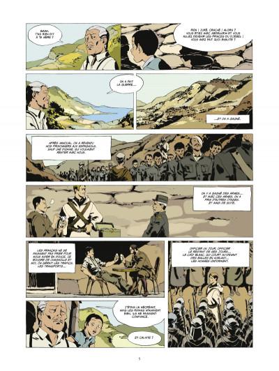 Page 3 l'or et le sang tome 3 - Les princes du Djebel (édition 2014)