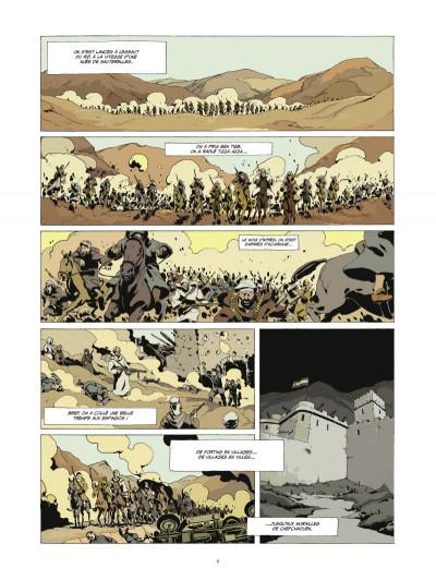 Page 4 l'or et le sang tome 3 - Les princes du Djebel (édition 2014)