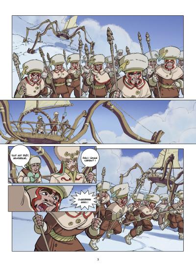 Page 1 le petit prince tome 22 - la planète d'Ashkabaar