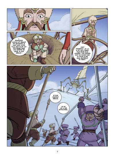 Page 3 le petit prince tome 22 - la planète d'Ashkabaar