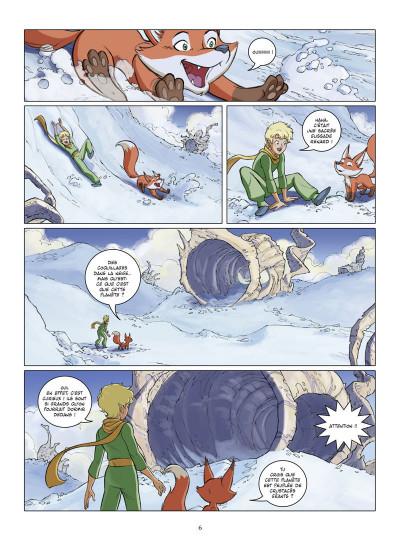 Page 4 le petit prince tome 22 - la planète d'Ashkabaar