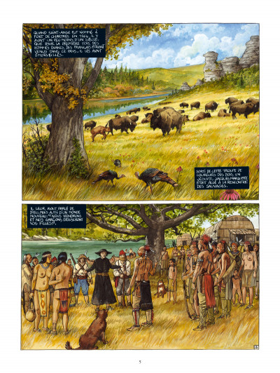 Page 3 Capitaine perdu tome 1