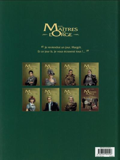 Dos Les maîtres de l'orge tome 2 (édition 2014)