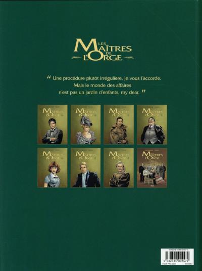 Dos Les maîtres de l'orge tome 5 (édition 2014)