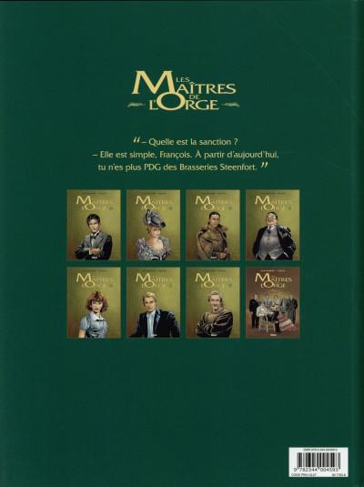 Dos Les maîtres de l'orge tome 7 (édition 2014)