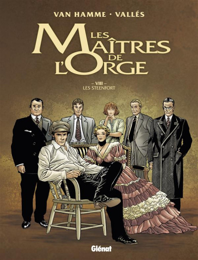 image de les maitres de l'orge tome 8 - Les Steenfort (édition 2014)