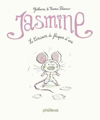 Couverture Jasmine, le concours de flaques d'eau
