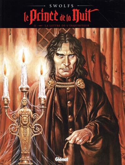 image de Le prince de la nuit tome 2 - édition 2015 - La Lettre de l'inquisiteur