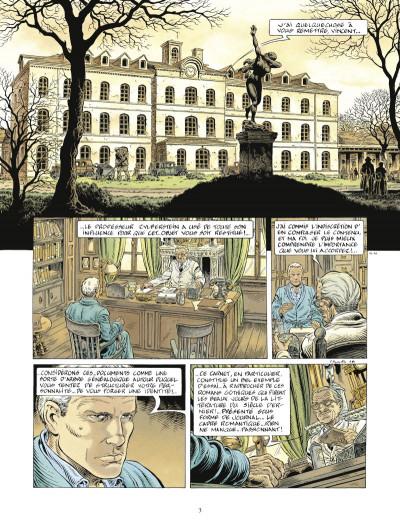 Page 1 Le prince de la nuit tome 4 - édition 2015 - Le Journal de Maximilien