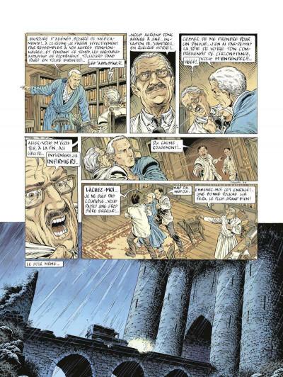 Page 3 Le prince de la nuit tome 4 - édition 2015 - Le Journal de Maximilien