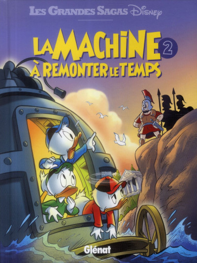 Couverture la machine à remonter le temps tome 2