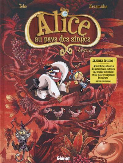 Couverture Alice au pays des singes tome 3