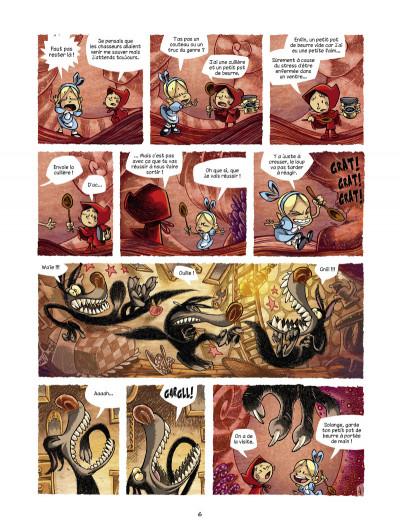Page 4 Alice au pays des singes tome 3