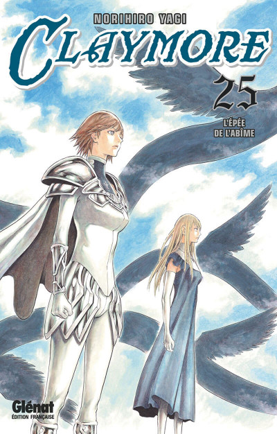 Couverture Claymore tome 25