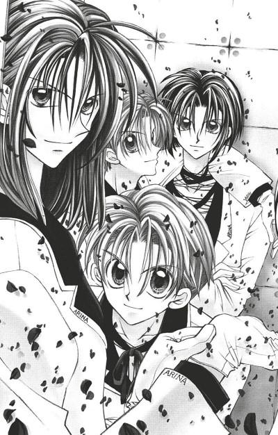 Page 6 Kamikaze kaito Jeanne tome 7
