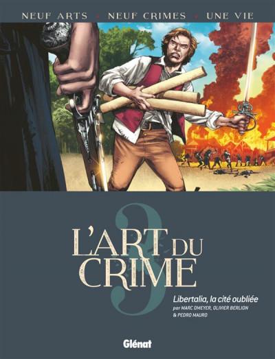 Couverture L'art du crime tome 3