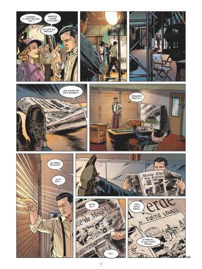 Page 1 L'art du crime tome 5 - Le rêve de Curtis Lowell