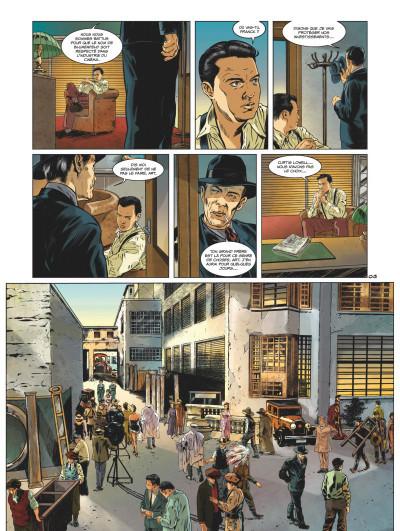 Page 2 L'art du crime tome 5 - Le rêve de Curtis Lowell