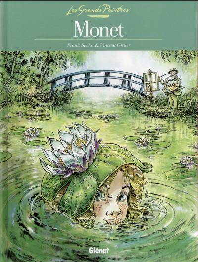 Couverture Les grands peintres : Claude Monet