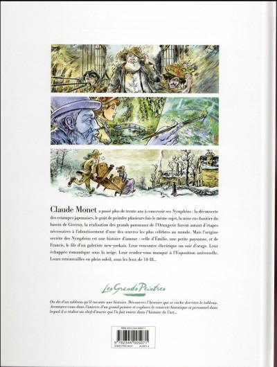 Dos Les grands peintres : Claude Monet