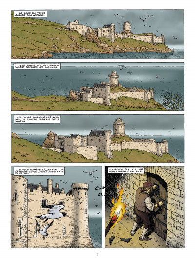 Page 1 Les chemins de malefosse tome 23