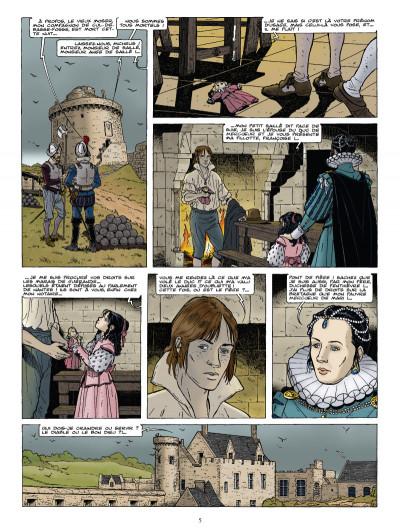 Page 3 Les chemins de malefosse tome 23