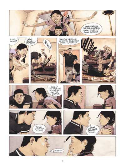 Page 1 Jeu d'ombres tome 2
