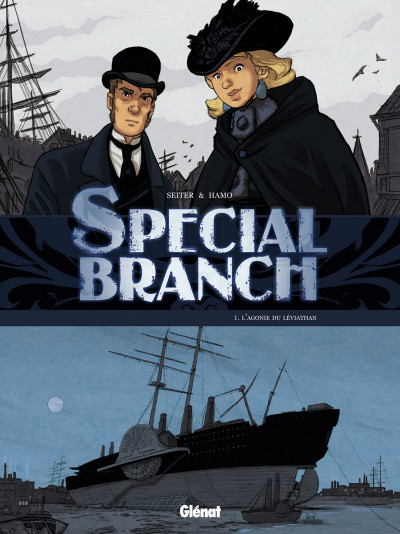 Page 1 special branch coffret tome 1 à tome 3