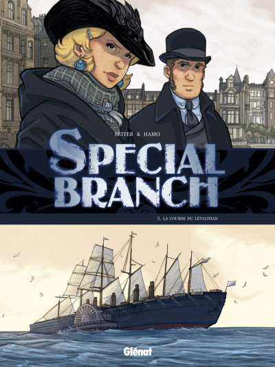 Page 2 special branch coffret tome 1 à tome 3