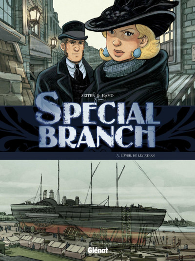 Page 3 special branch coffret tome 1 à tome 3